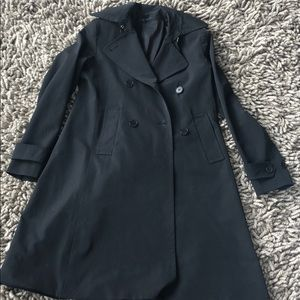 Theory trench coat size M